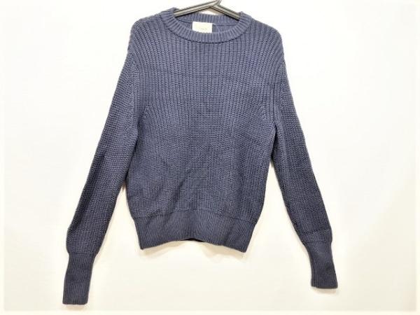 VONDEL(フォンデル) 長袖セーター サイズS レディース美品  ネイビー