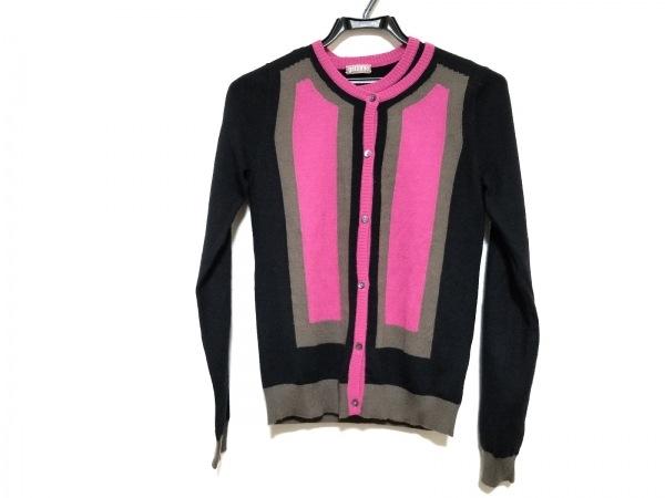 ガリアーノ アンサンブル サイズXS レディース美品  黒×ピンク×ダークグレー
