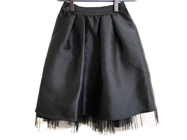 LagunaMoon(ラグナムーン) 巻きスカート サイズS レディース美品  黒