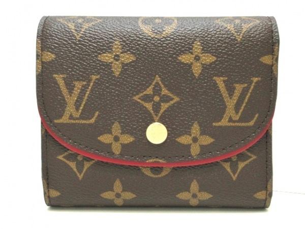 ルイヴィトン 3つ折り財布 モノグラム美品  ポルトフォイユ・アリアンヌ M62036