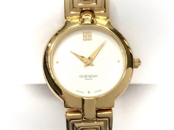 GIVENCHY(ジバンシー) 腕時計美品  - レディース 白