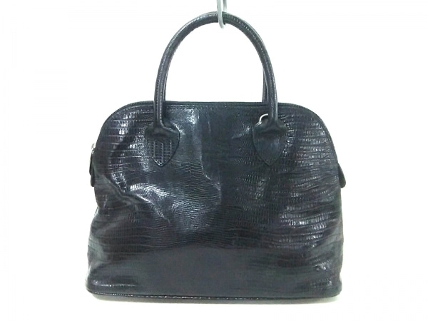 barantani(バランターニ) ハンドバッグ 黒 型押し加工 レザー