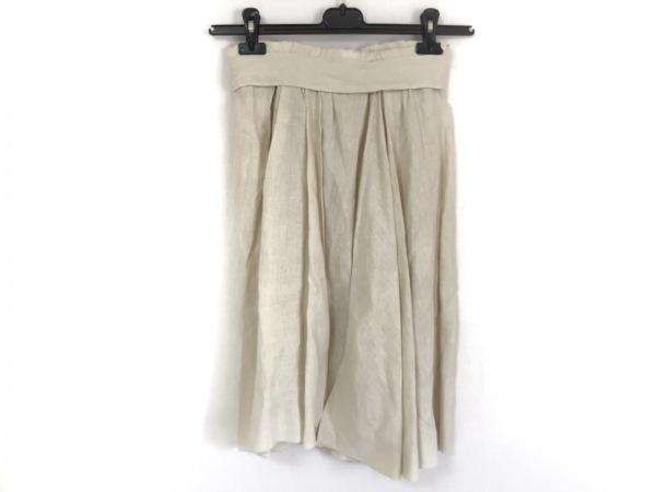 PRADA(プラダ) スカート サイズ38 S レディース美品  アイボリー