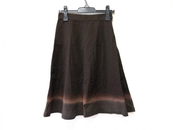 PRADA(プラダ) スカート サイズ38 S レディース美品  ダークブラウン
