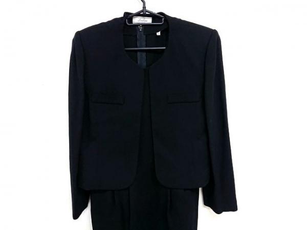 Leilian(レリアン) ワンピーススーツ サイズ9 M レディース美品  黒