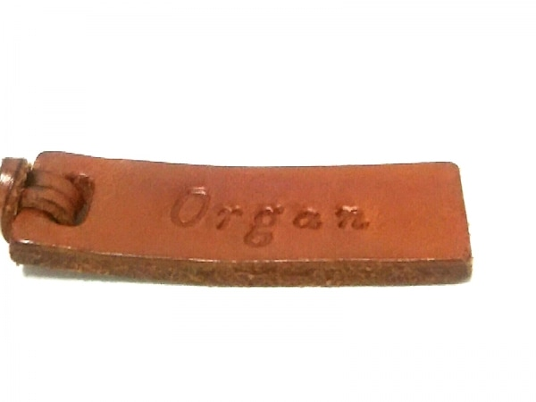 organ(オルガン) ショルダーバッグ美品  ブラウン レザー