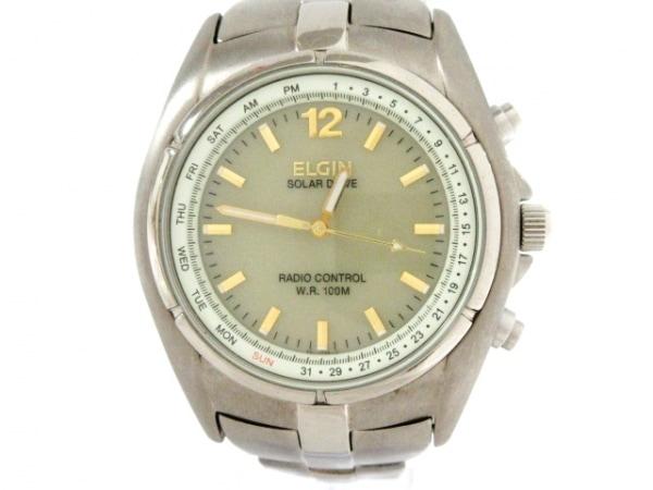 ELGIN(エルジン) 腕時計 FK-1239-GP メンズ ベージュ