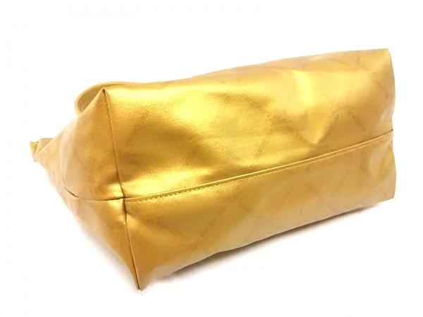 ロンシャン ショルダーバッグ ゴールド コーティングキャンバス 4