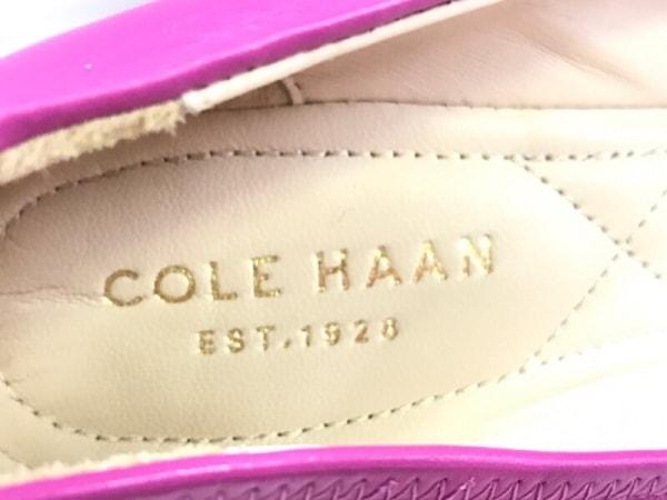 COLE HAAN(コールハーン) パンプス 5 1/2 B レディース ピンク リボン レザー
