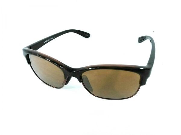 オークリー サングラス美品  - OO9204-04 ブラウン×黒 プラスチック×金属素材