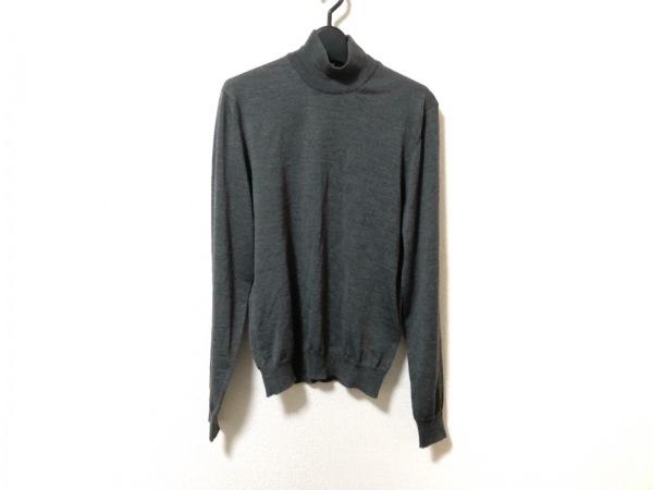 Drumohr(ドルモア) 長袖セーター サイズ44 L メンズ美品  グレー ハイネック