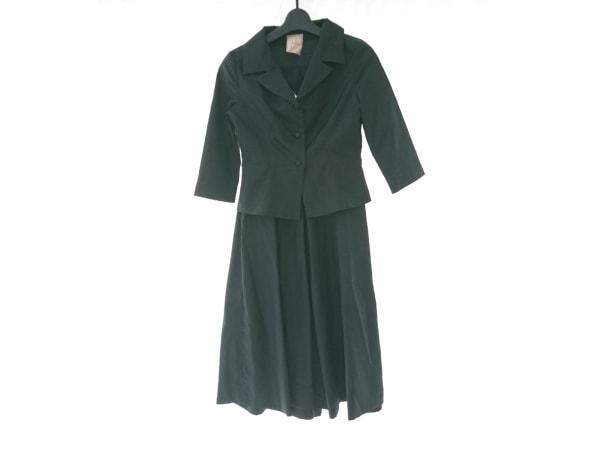 Sybilla(シビラ) ワンピーススーツ サイズM レディース 黒 インナースカート付