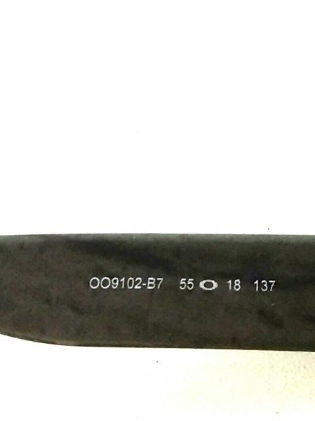 オークリー サングラス新品同様  HOLBROOK OO9102-B7 グレー×ダークグレー×黒