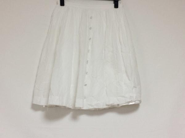 JUSGLITTY(ジャスグリッティー) スカート サイズ2 M レディース美品  白