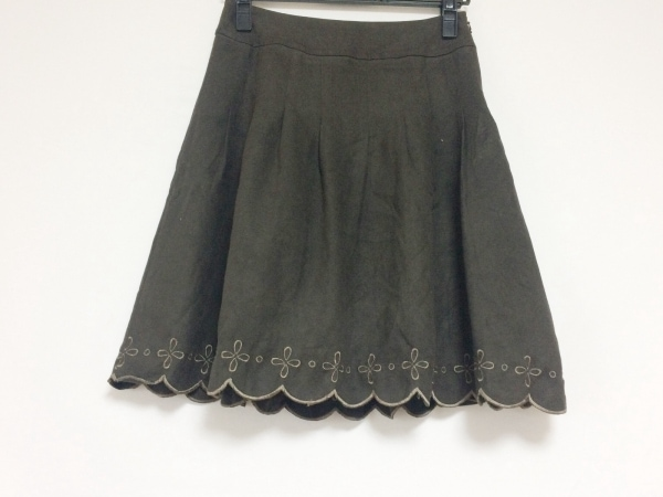 アプワイザーリッシェ スカート サイズ1 S レディース美品  ダークブラウン