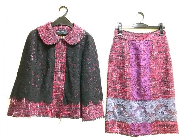 ドルチェアンドガッバーナ スカートスーツ サイズ36 S レディース美品