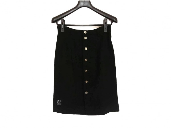 VALENZA PO SPORTS(バレンザポースポーツ) スカート サイズ40 M レディース美品  黒