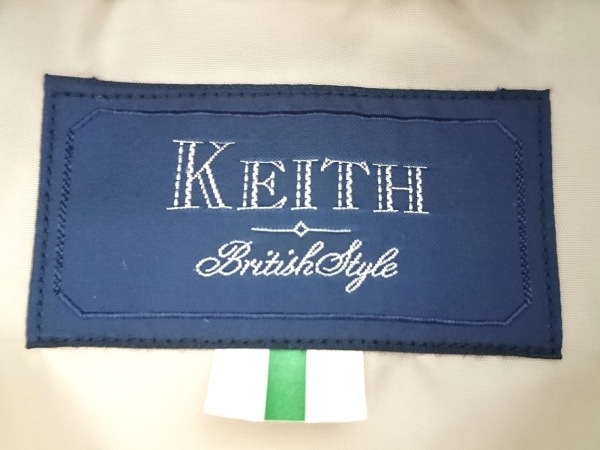 KEITH(キース) コート レディース ベージュ ロング丈/春・秋物