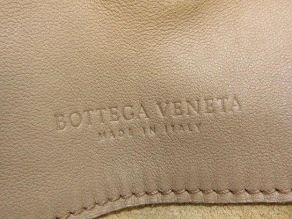 ボッテガヴェネタ トートバッグ イントレチャート 125787 ベージュ レザー