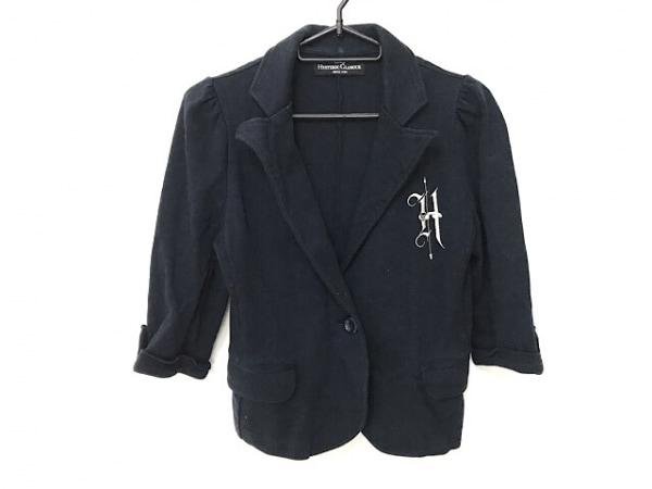 ヒステリックグラマー ジャケット サイズFree F レディース 黒 七部袖