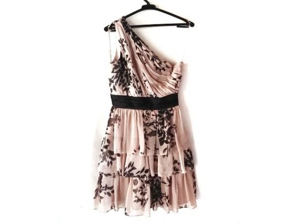 MaxandCleo(マックスアンドクレオ) ドレス サイズ4 XL レディース ベージュ×黒