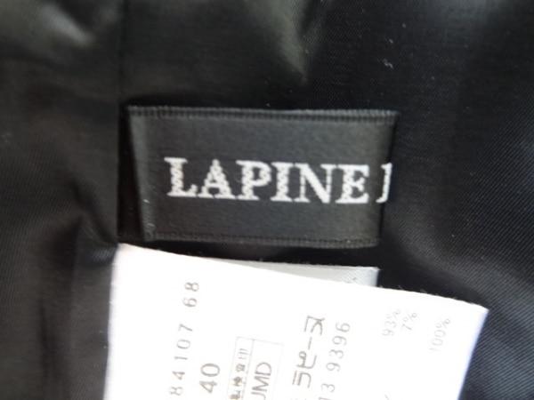 ラピーヌブランシュ ワンピース サイズ40 M レディース 黒×アイボリー