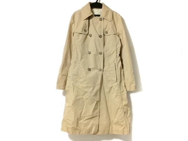 ヘンリーコットンズ コート サイズ40 M レディース ベージュ 春・秋物