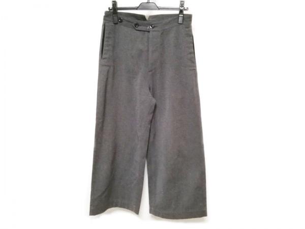 MHL.(マーガレットハウエル) パンツ サイズ2 M レディース ダークグレー