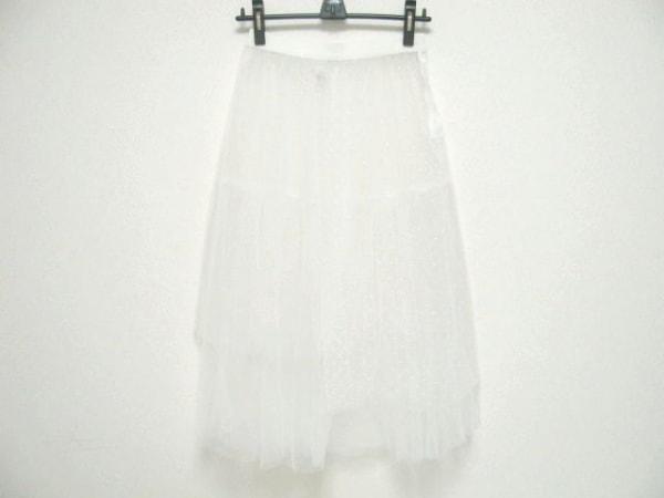 MUVEIL(ミュベール) スカート サイズ38 M レディース 白 チュール