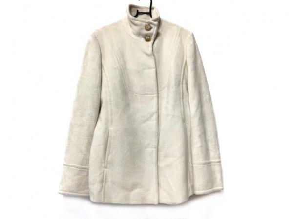 DKNY(ダナキャラン) コート サイズ6 M レディース 白 冬物
