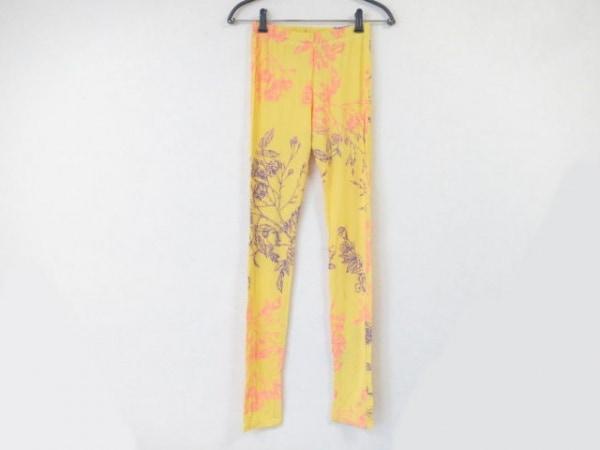 ホォアナ デ アルコ パンツ サイズU レディース イエロー×ピンク×パープル 花柄