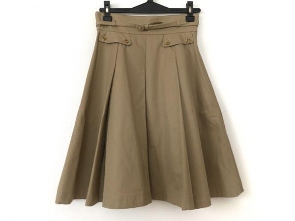 Lois CRAYON(ロイスクレヨン) スカート サイズM レディース美品  ベージュ