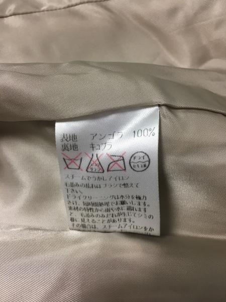 アクアスキュータム コート サイズ9 M レディース ベージュ 肩パッド/冬物