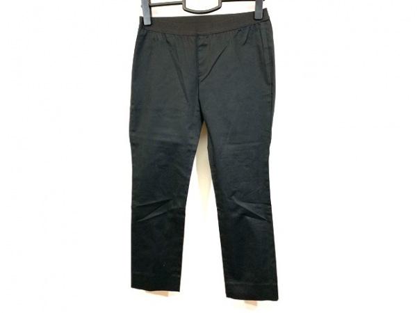 M.Fil(エム.フィル) パンツ サイズ36 S レディース美品  黒 クロップド/ゴムウエスト