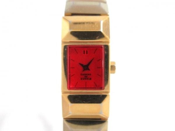 ZUCCA(ズッカ) 腕時計 V220-0AA0 レディース レッド