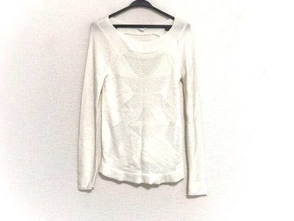 Helmut Lang(ヘルムートラング) 長袖セーター サイズS レディース美品  白