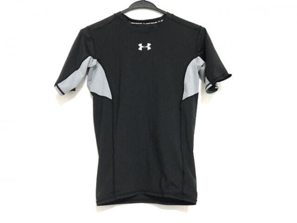 UNDER ARMOUR(アンダーアーマー) 半袖Tシャツ サイズM レディース美品  黒×グレー