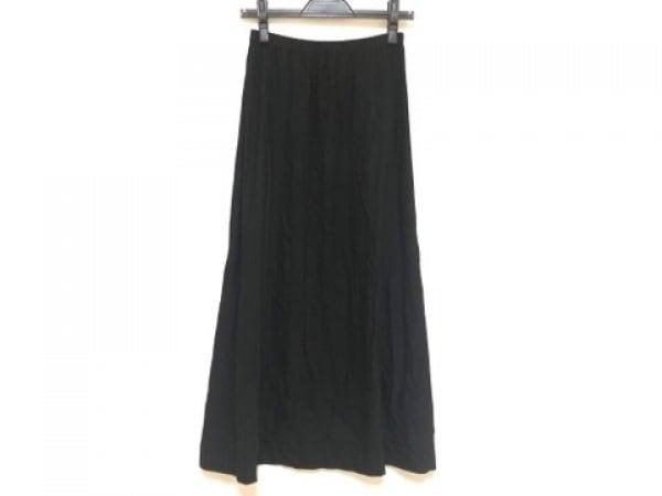 agnes b(アニエスベー) ロングスカート サイズ2 M レディース 黒