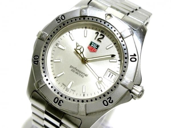 TAG Heuer(タグホイヤー) 腕時計 プロフェッショナル200 WK1112-0 メンズ シルバー