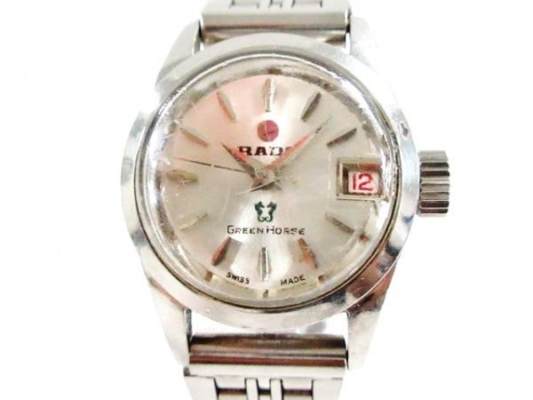 RADO(ラドー) 腕時計 グリーンホース/ウォーターシールド 759-1 レディース シルバー
