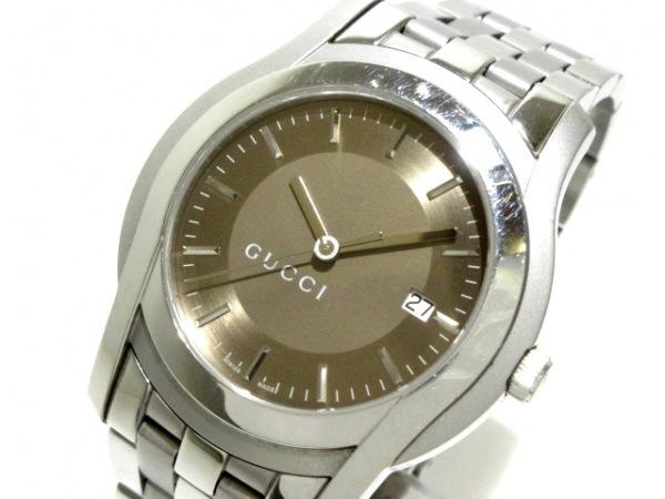 GUCCI(グッチ) 腕時計 Gクラス 5500XL メンズ ライトブラウン