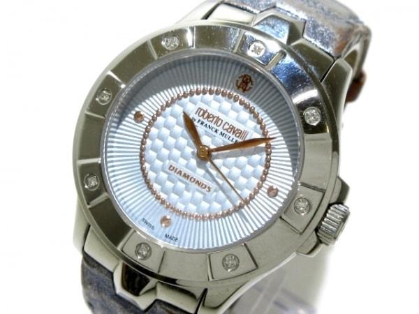 RobertoCavalli(ロベルトカヴァリ) 腕時計 - レディース ライトブルー