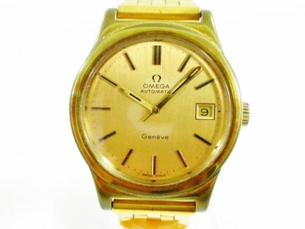 OMEGA(オメガ) 腕時計 ジュネーブ - メンズ ゴールド