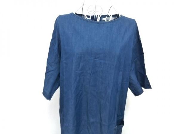 VALMAN(バルマン) ワンピース サイズLL レディース美品  ブルー