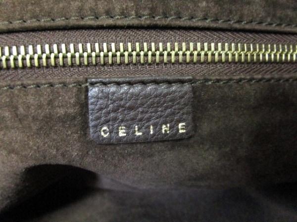 CELINE(セリーヌ) ショルダーバッグ - ダークブラウン レザー 6