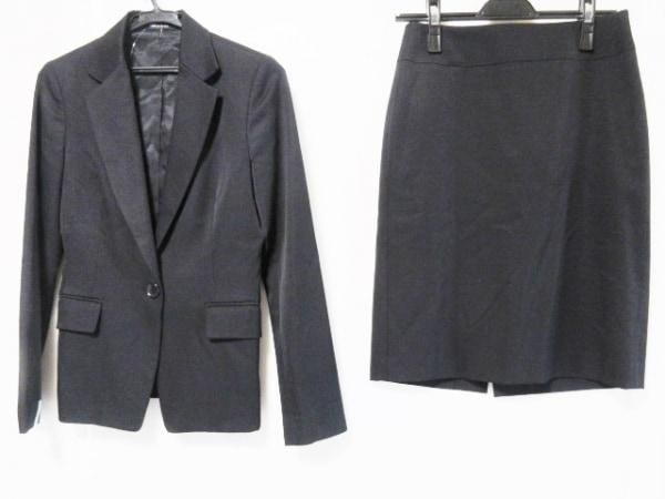 COMME CA DU MODE(コムサデモード) スカートスーツ サイズ9 M レディース 黒