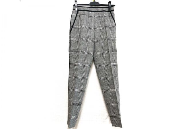 BERARDI(ベラルディ) パンツ サイズ0 XS レディース 黒×アイボリー 千鳥格子