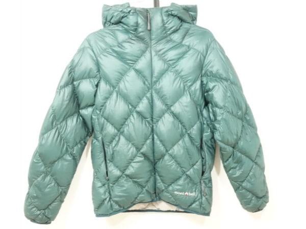 mont-bell(モンベル) ダウンジャケット サイズM レディース ダークグリーン 冬物