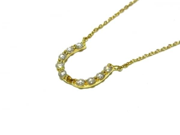 STAR JEWELRY(スタージュエリー) ネックレス美品  K18YG×ダイヤモンド