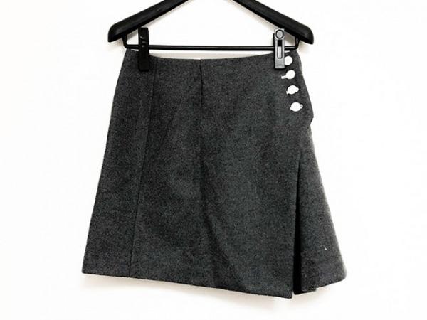 furfur(ファーファー) スカート レディース美品  グレー
